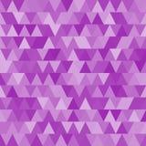 Barwiony trójboka wzór również zwrócić corel ilustracji wektora Obrazy Stock