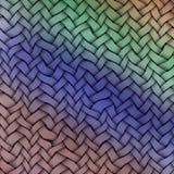 Barwiony wątek wyplatająca tło tekstura Roczników kolory ilustracji