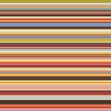 Barwionych horyzontalnych lampasów bezszwowy wzór Obrazy Stock