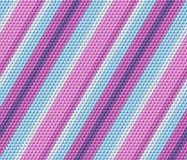 Barwionych sześcianów bezszwowy deseniowy tło Zdjęcia Royalty Free