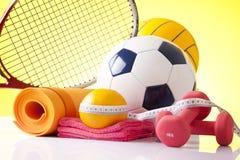 barwnik urządzeń sportowych na ilustracyjna wody Obraz Royalty Free