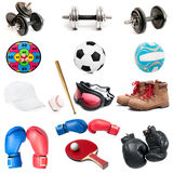 barwnik urządzeń sportowych na ilustracyjna wody Zdjęcie Royalty Free