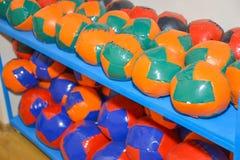 barwnik urządzeń sportowych na ilustracyjna wody piłki Fotografia Stock
