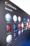 barwniki metaliczny fotografia royalty free