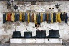 barwniki w domu stary Zdjęcie Stock