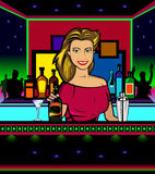 Barwoman Libre Illustration