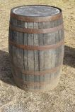 Baryłki dla odpędowego whisky i bourbonu Zdjęcie Royalty Free
