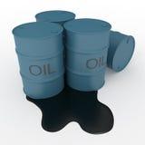 baryłki olej Zdjęcia Stock