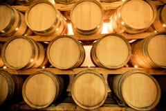 baryłki wino Zdjęcia Royalty Free