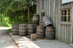 baryłki wino Fotografia Stock