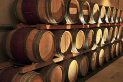 baryłki wino zdjęcie royalty free