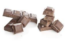 bary czekoladowej głębii pola płycizny Zdjęcie Stock
