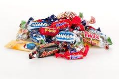 bary czekoladowej głębii pola płycizny zdjęcia royalty free