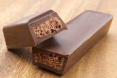 bary czekoladowej głębii pola płycizny Obrazy Royalty Free
