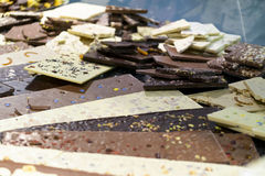 bary czekoladowej głębii pola płycizny Fotografia Royalty Free
