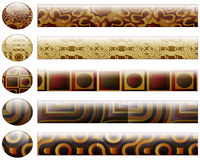 bary guzików projekta elementów target623_1_ Zdjęcie Royalty Free