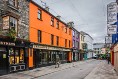 Bary i puby w Irlandia fotografia royalty free