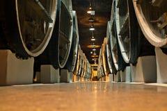 baryłki lochów wina winemakers Fotografia Royalty Free