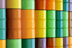 baryłki olej Fotografia Stock