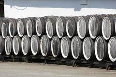 Baryłki z winem Obraz Stock
