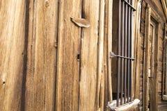 Bary na okno stary więzienie Obrazy Royalty Free