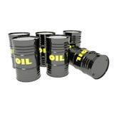 Baryły Ropy Naftowej Fotografia Stock