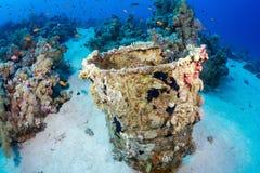 Baryły ropy naftowej underwater Obraz Stock