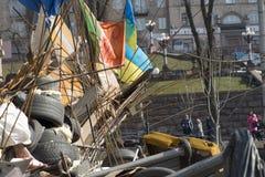 Barykady w Kijów Zdjęcie Stock