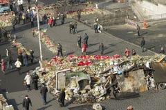 Barykady w Kijów Obraz Royalty Free