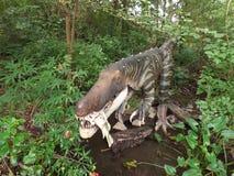 Baryonyx恐龙 免版税图库摄影
