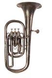 barytonowy antyczny horn Fotografia Stock