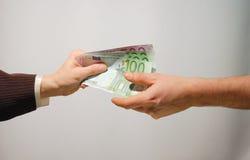 Barzahlung Lizenzfreies Stockbild
