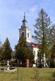 Barzava village church Royalty Free Stock Images