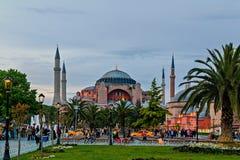 Basílica do Hagia Sophia Church Istanbul imagens de stock