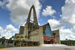BasÃlica Catedral Nuestra Señora de Λα Altagracia, δομινικανό Ρ Στοκ φωτογραφία με δικαίωμα ελεύθερης χρήσης