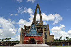 BasÃlica Catedral Nuestra Señora de Λα Altagracia, δομινικανό Ρ Στοκ Εικόνες