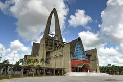 BasÃlica Catedral Nuestra Señora de la Altagracia, dominikan R royaltyfri fotografi