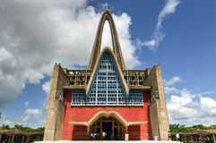 BasÃlica Catedral Nuestra Señora de la Altagracia, dominikan R Arkivbild