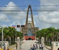 BasÃlica Catedral Nuestra Señora de la Altagracia, R dominicain Photographie stock libre de droits