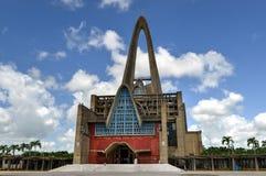 basÃlica Catedral Nuestra señora De Los angeles Altagracia, Dominikański R zdjęcie stock