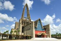 BasÃlica Catedral Nuestra SeA±oraa de la Altagracia,多米尼加共和国的R 免版税库存照片