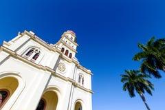 basÃlica De Nuestra señora del Cobre w Santiago de Kuba obraz stock