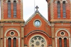 BasÃlica DE Nuestra Señora, Ciudad Ho Chi Minh, Vietnam Royalty-vrije Stock Foto