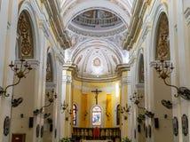 BasÃlica DE San Juan Bautista stock afbeeldingen