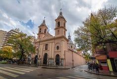 BasÃlica DE Santo Domingo Church - Cordoba, Argentinië royalty-vrije stock foto