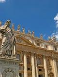 Basílica 01 de St Peters Imagen de archivo libre de regalías