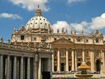 Basílica 05 de St Peters Foto de archivo