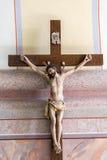 Basílica, arquitetura e interiores de Aglona Foto de Stock Royalty Free
