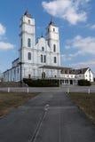 Basílica, arquitetura e interiores de Aglona Fotos de Stock Royalty Free