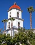 Basílica California de San Juan Capistrano de la misión Foto de archivo libre de regalías